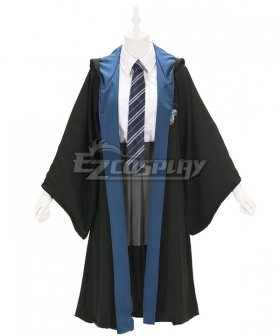 Harry Potter Female Ravenclaw Robe School Uniform Halloween Cosplay Costume