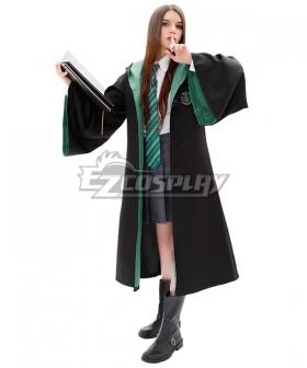 Harry Potter Female Slytherin Robe School Uniform Halloween Cosplay Costume , Special Price $19.99 (Regular Price $54.99)
