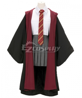 Harry Potter Hermione Jane Granger Hermione Jean Granger Gryffindor Uniform Cosplay Costume
