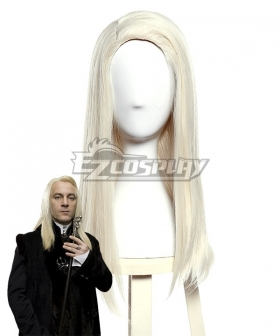 Harry Potter Lucius Malfoy Light Golden Cosplay Wig