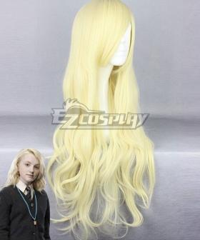 Harry Potter Luna Lovegood Light Golden Cosplay Wig