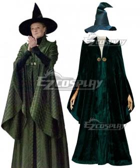 Harry Potter Professor Minerva McGonagall Cosplay Costume