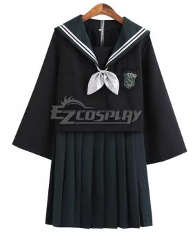 Harry Potter Slytherin JK Uniform Cosplay Costume