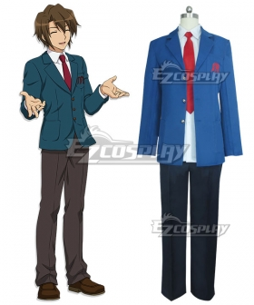 Haruhi Suzumiya Kyon Boy's School Uniform Cosplay Costume