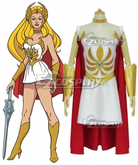 She-Ra: Princess Of Power 1985 Anime She-Ra Cosplay Costume - Including Headwear