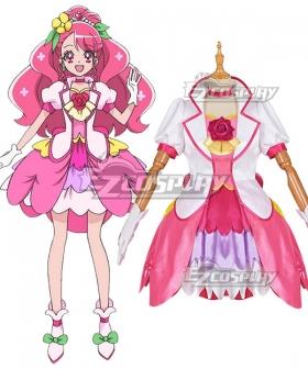 Healin' Good Pretty Cure Hanadera Nodoka Cure Grace Cosplay Costume