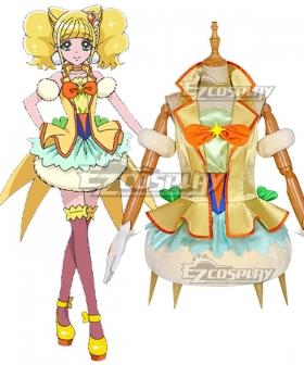 Healin' Good Pretty Cure Hiramitsu Hinata Cure Sparkle Cosplay Costume