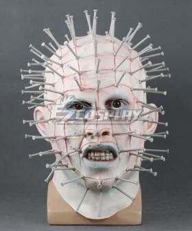 Hellraiser Pinhead Halloween Mask Cosplay Accessory Prop