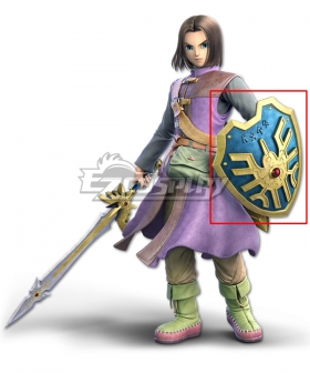Dragon Quest XI S: Echoes of an Elusive Age - Definitive Edition Hero Shield Cosplay Weapon Prop