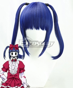 High-Rise Invasion Ain Blue Cosplay Wig