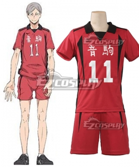Haikyu!! Haikyuu!! Second Season Nekoma High Nekoma Koukou Lev Haiba Cosplay Costume