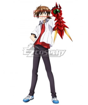 High School DxD BorN Issei Hyoudou Brown Cosplay Contact Lense