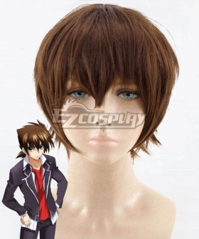 High School DxD BorN Issei Hyoudou Brown Cosplay Wig