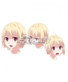 High School DxD Gasper Vladi Golden Cosplay Wig