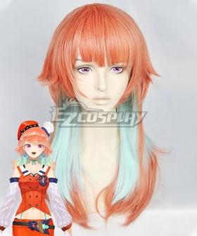 Hololive Youtuber Vtuber Takanashi Kiara Orange Cosplay Wig