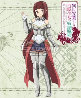 How NOT To Summon A Demon Lord Isekai Maou To Shoukan Shoujo Dorei Majutsu Alicia Crystella Cosplay Costume
