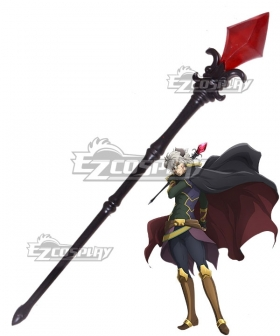 How NOT To Summon A Demon Lord Isekai Maou To Shoukan Shoujo Dorei Majutsu Takuma Sakamoto Diablo Staff Cosplay Weapon Prop