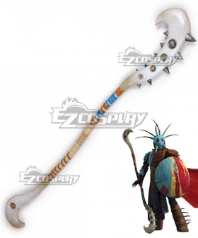 How To Train Your Dragon 2 Valka Spear Cosplay Weapon Prop