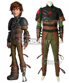 How To Train Your Dragon: The Hidden World Hiccup Cosplay Costume - A Edition
