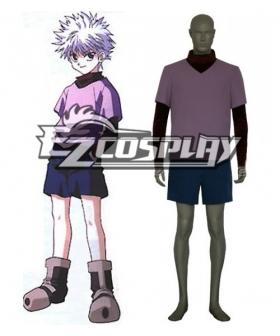 Hunter X Hunter Killua Zaoldyeck Cosplay Costume