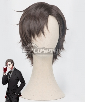 Hypnosis Mic Division Rap Battle 45 Rabbit Juto Iruma Brown Cosplay Wig