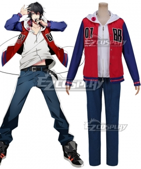 Hypnosis Mic Division Rap Battle Buster Bros Ichiro Yamada MC.B.B Big Brother Cosplay Costume
