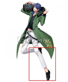 Hypnosis Mic Division Rap Battle Dice Arisugawa Dead or Alive Black Cosplay Shoes