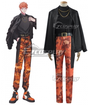 Hypnosis Mic Division Rap Battle Rio Mason Busujima Cosplay Costume New Edition