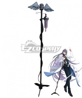 Hypnosis Mic Division Rap Battle The Dirty Dawg Jakurai Junguji Microphone Cosplay Weapon Prop