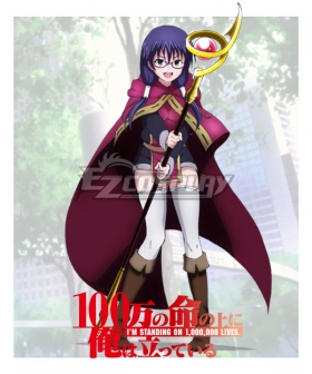 I'm Standing on a Million Lives 100-man no Inochi no Ue ni Ore wa Tatte Iru Yuka Tokitate Cosplay Costume