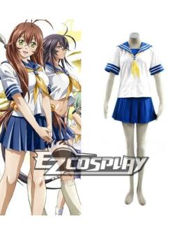 Ikki Tousen Sonsaku Hakufu Uniform Cosplay Costume