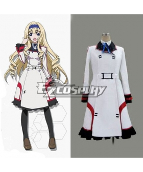 Infinite Stratos Cecilia Alcott Cosplay Costume