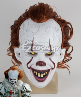 It 2019 Movie Pennywise Halloween Mask Cosplay Accessory Prop