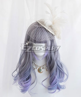 Japan Harajuku Lolita Series Gradient Blue Cosplay Wig
