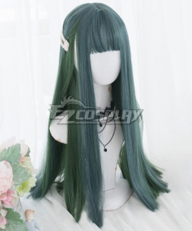 Japan Harajuku Lolita Series Green Cosplay Wig