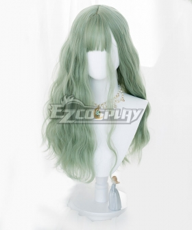 Japan Harajuku Lolita Series Light Green Cosplay Wig
