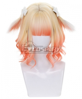 Japan Harajuku Lolita Series Miketea Bunney Golden Orange Cosplay Wig