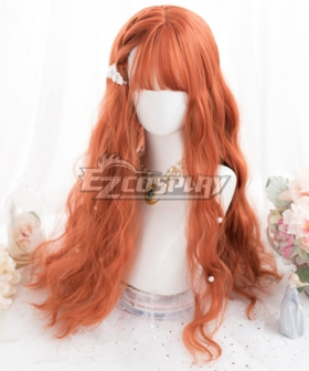 Japan Harajuku Lolita Series Orange Cosplay Wig