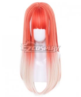 Japan Harajuku Lolita Series Peach Orange Cosplay Wig
