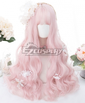 Japan Harajuku Lolita Series Pink Cosplay Wig