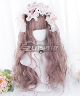 Japan Harajuku Lolita Series Pink Purple Cosplay Wig