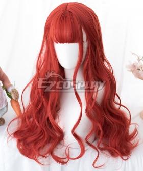 Japan Harajuku Lolita Series Red Cosplay Wig