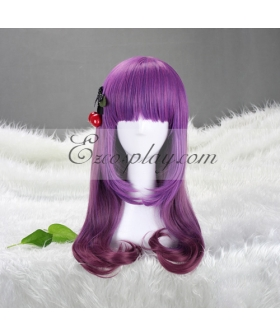 Japan Harajuku  Series Purple Shades Cosplay Wig-RL001