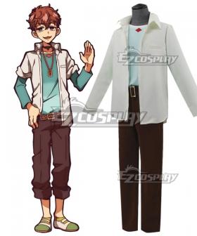 Jibaku Shounen Hanako-Kun Hinata Natsuhiko Cosplay Costume