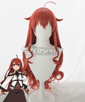 Mushoku Tensei: Jobless Reincarnation Eris Boreas Greyrat Red Cosplay Wig