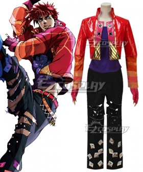 Jojo'S Bizarre Adventure: Phantom Blood Bloody Stream Cover Joseph Joestar  Cosplay Costume