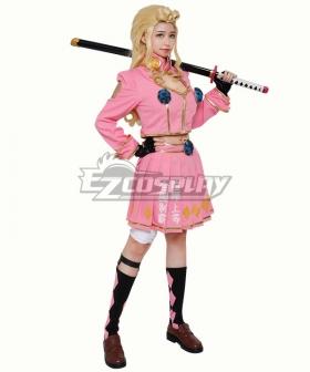 JoJo's Bizarre Adventure: Vento Aureo Golden Wind Giorno Giovanna Female Uniform Cosplay Costume