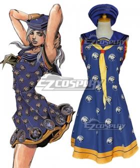 JoJo's Bizarre Adventure JoJolion Yasuho Hirose Cosplay Costume