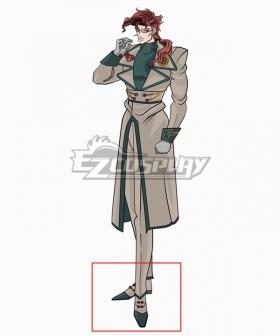 JoJo's Bizarre Adventure Kakyoin Noriaki White Green Cosplay Shoes