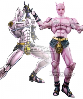 Jojo'S Bizarre Adventure Kira Yoshikage Killer Queen Cosplay Costume